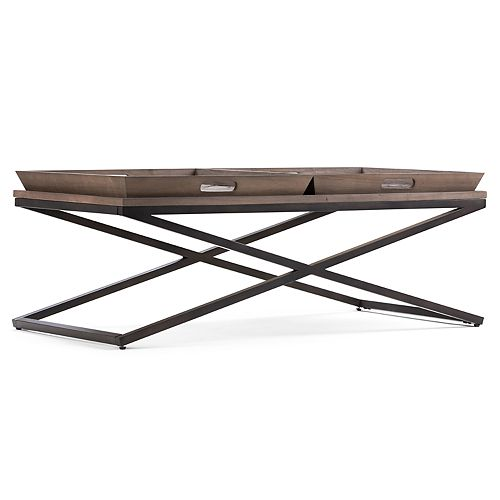 Simpli Home Damien Coffee Table