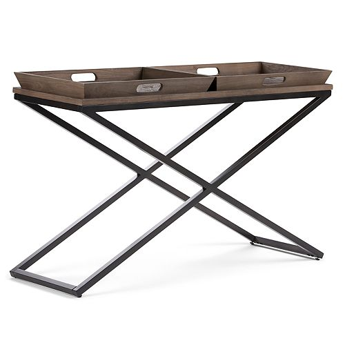 Simpli Home Damien Console Table