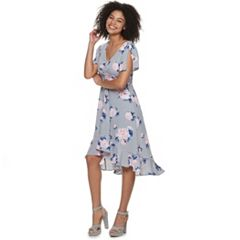 6eb4219b756 Juniors  Candie s® Ruffled Floral Midi Dress