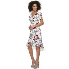 a85b8409917 Juniors  Candie s® Ruffled Floral Midi Dress