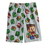 Boys 4-16 Minecraft Sleep Shorts