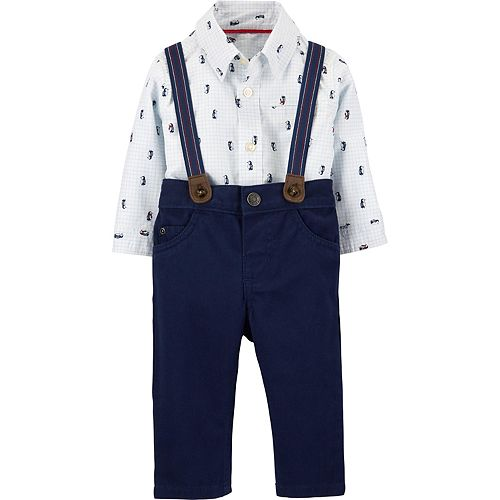 Baby Boy Carter's 3-Piece Penguin Dress Me Up Set