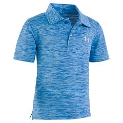 Boys 4-7 Under Armour Space Dyed Match Play Logo Polo