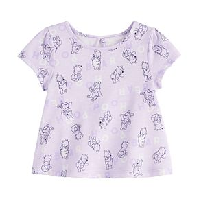 Disney's Winnie The Pooh Baby Girl Print Swing Top by Jumping Beans®