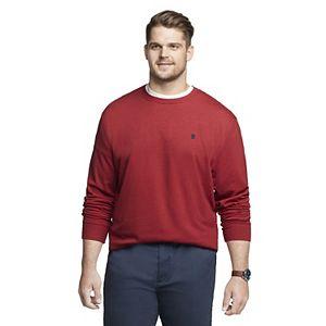 Big & Tall IZOD Sportswear Classic-Fit Fleece Crewneck Sweater