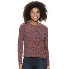 Juniors' Candie's Animal Print Top