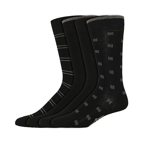 Men's Dockers Classic Smart 360 Flex 4-pack Dress Socks