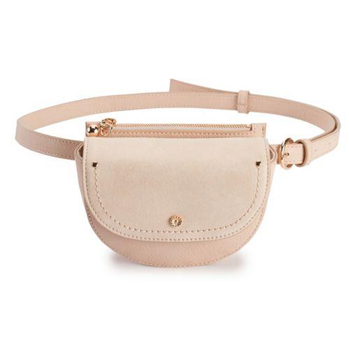 LC Lauren Conrad Asana Faux-Leather Belt Bag