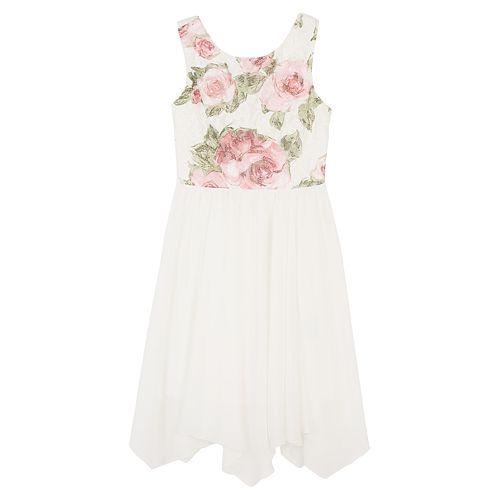 Girls 7 16 Iz Amy Byer Floral Colorblock Dress