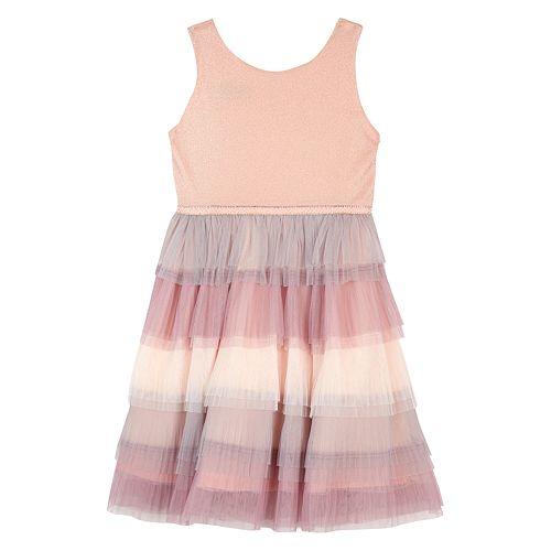Girls 7-16 IZ Amy Byer Tiered Tulle Dress