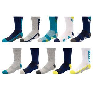 Boys 4-20 Tek Gear® 10-Pack Performance Crew Socks