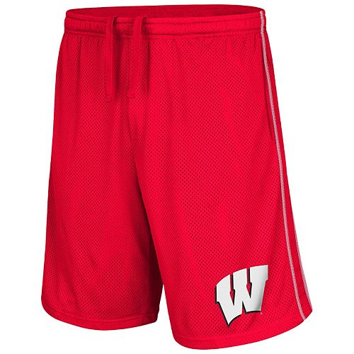 Men's Wisconsin Badgers Super Fun Shorts