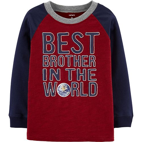Toddler Boy Carter's Best Brother Slubbed Jersey Tee