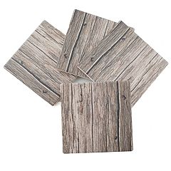 Thirstystone 4-pc. Faux-Wood Coaster Set