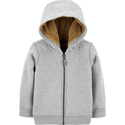 Toddler Boy Carter's Fleece Lined Zip Hoodie