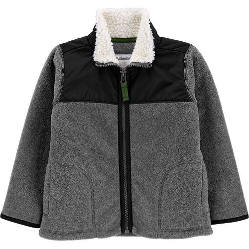 Toddler Boy Carter's Zip-Up Fleece Jacket
