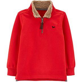 Toddler Boy Carter's Half-Zip Pullover Sweater