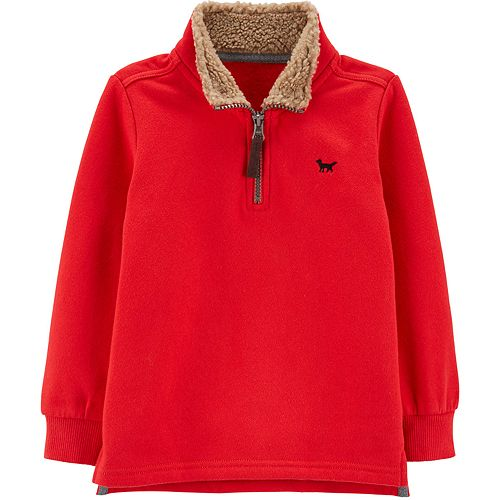 Toddler Boy Carter's Half-Zip Pullover Sweater