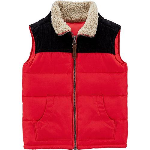 Toddler Boy Carter's Zip-Up Vest