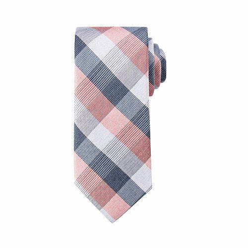 Men's damen + hastings Checked Skinny Tie