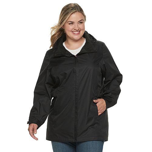 Plus Size ZeroXposur Courtney Hooded Rain Jacket