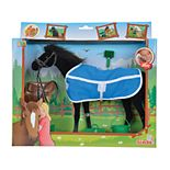 Simba Toys Champion Black Beauty Horse with Accessories