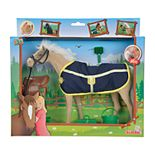 Simba Toys Champion Light Brown Beauty Horse with Accessories