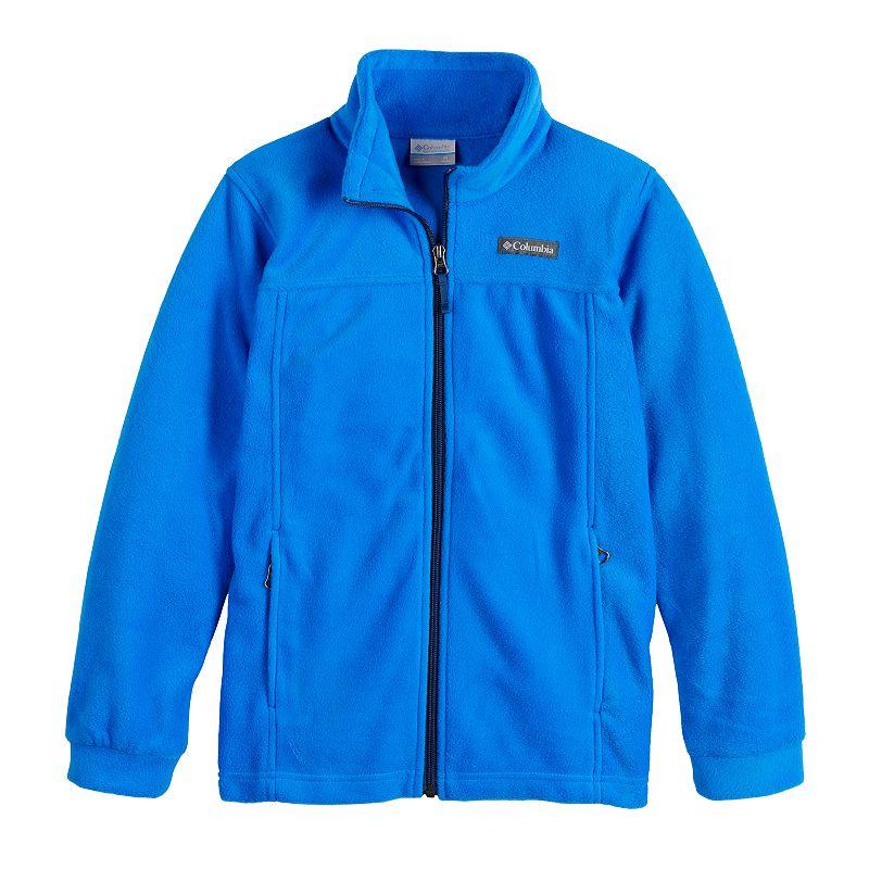 Boys 4-18 Columbia Steens Mountain Lightweight Fleece Jacket, Boy's, Size: XL, Brt Blue
