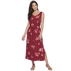 c4c885e6932f Petite Apt. 9® Print Gathered Maxi Dress