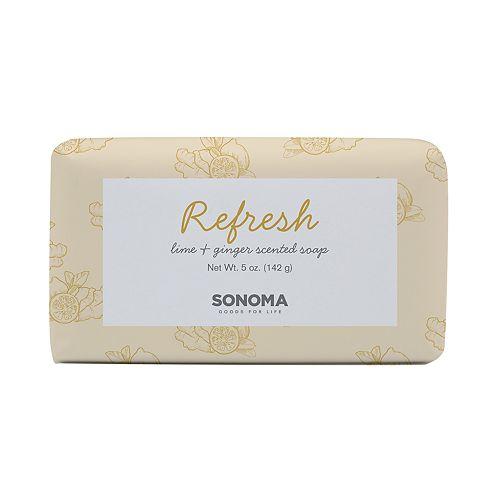 SONOMA Goods for Life™ SPA Lime & Ginger Refresh Bar Soap