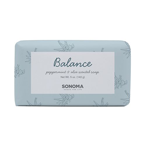 SONOMA Goods for Life™ SPA Peppermint & Aloe Balance Bar Soap