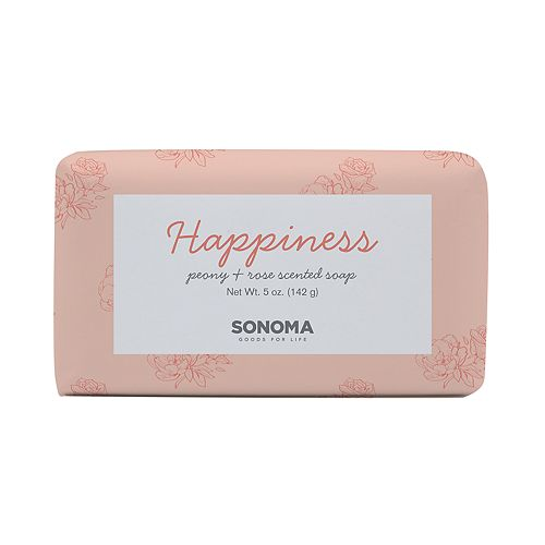 SONOMA Goods for Life™ SPA Peony & Rose Happiness Bar Soap