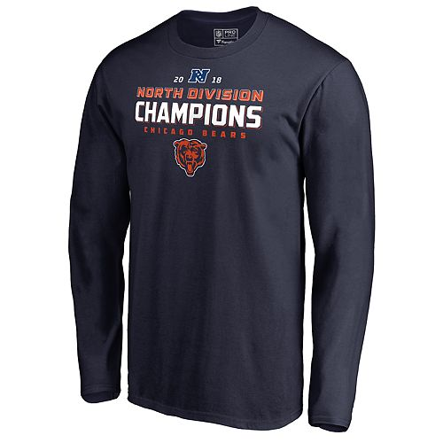 79935aa4f Men s Chicago Bears NFC North Division Champions Tee