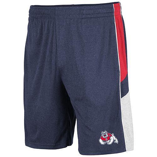 Men's Fresno State Bulldogs Triple Up Shorts