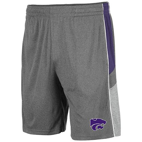 Men's Kansas State Wildcats Triple Up Shorts
