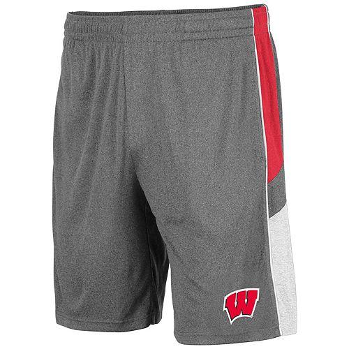 Men's Wisconsin Badgers Triple Up Shorts