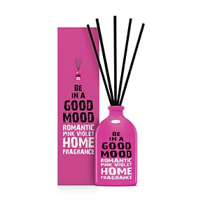 BE IN A GOOD MOOD Romantic Pink Violet Stick Diffuser