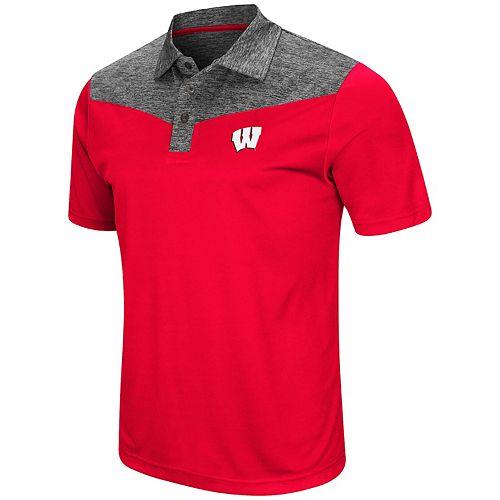 Men's Wisconsin Badgers Head Start Polo