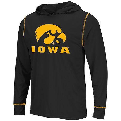 Men's Iowa Hawkeyes Hooded Tee