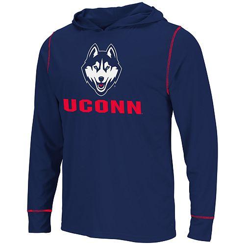 Men's UConn Huskies Hooded Tee