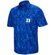 Men's Duke Blue Devils Luau Button-Down Shirt