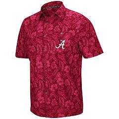 on sale 4d29c 9f37e Men s Alabama Crimson Tide Luau Button-Down Shirt