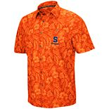 Men's Syracuse Orange Luau Button-Down Shirt