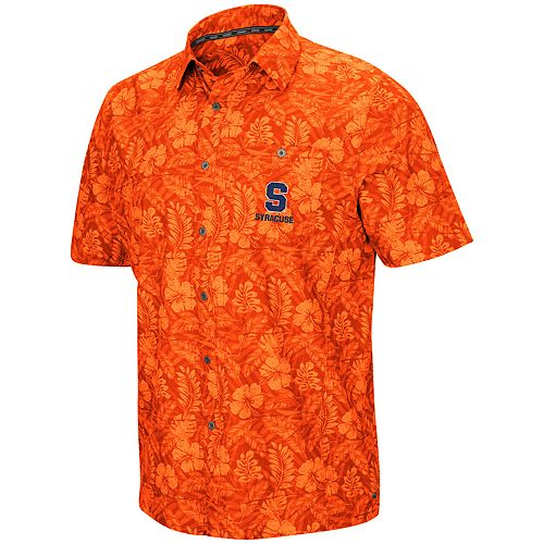 Men's Syracuse Orange Luau Button-Down Shirt