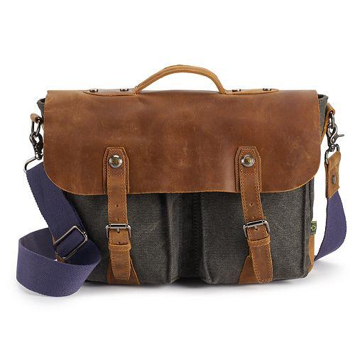 The Same Direction Hudson Canvas Messenger Bag