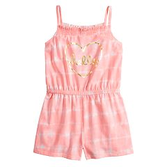 Girls 4-12 Jumping Beans® Printed Romper