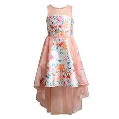 Girls 7-16 Emily West Floral High-Low Dress