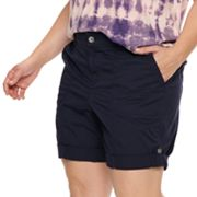 NEW! Plus Size EVRI Utility Bermuda Shorts