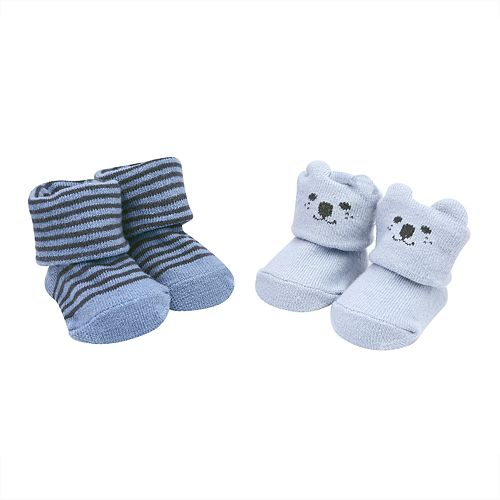 Baby Boy Carter's 2-Pack Bear Bootie Socks