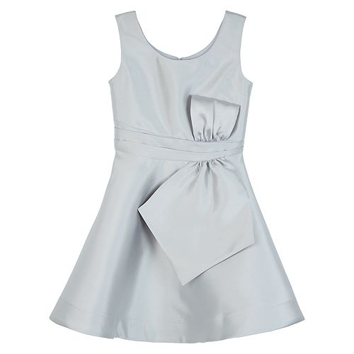 Girls IZ Amy Byer Tie Front Fit & Flare Dress